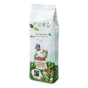 Puro Fairtrade Decaf Ground Coffee – 250g