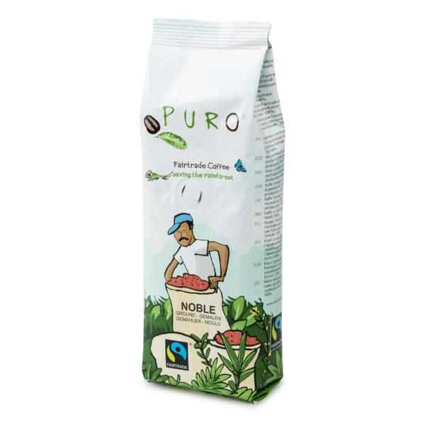 Puro Fairtrade Noble Ground Coffee – 250g
