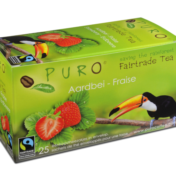 Puro Fairtrade – Strawberry Tea
