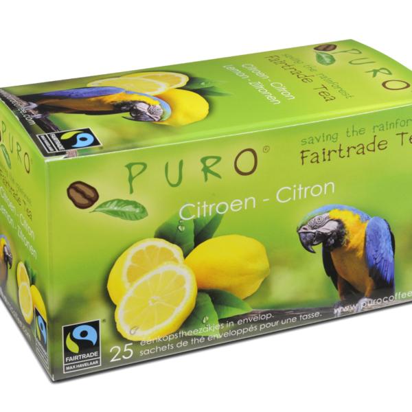 Puro Fairtrade – Lemon Tea