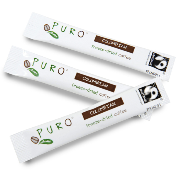 Puro Freeze Dried Coffee Sticks – Colombian