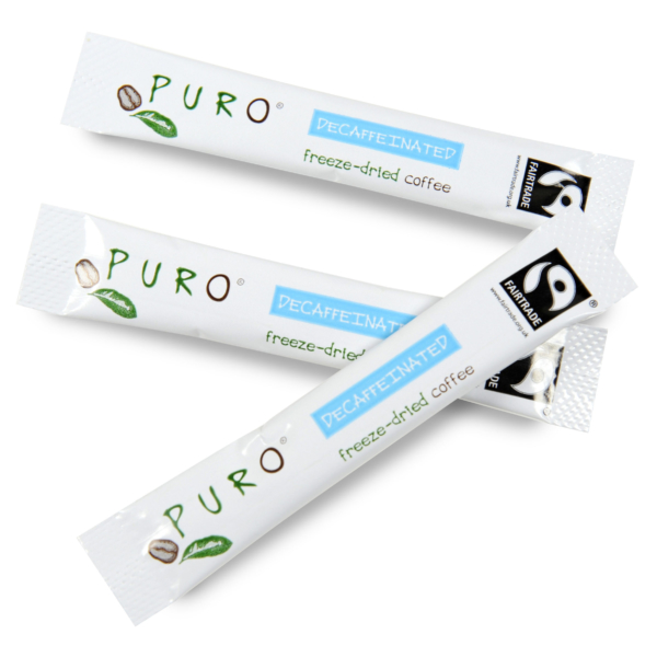 Puro Freeze Dried Coffee Sticks – Decaf